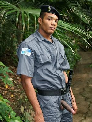 Fodas espetaculares com o guarda florestal! BRASIL