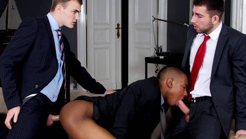 [Interracial DP] Christian Wilde, Damian Boss & Tyson Tyler