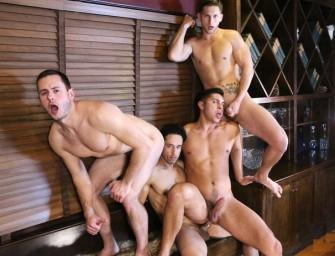 Rafael faz prova de sexo com jovens pra escolher herdeiro