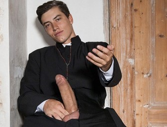 Jovem padre mostra dote e cutuca Igreja Católica