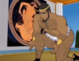 Animação gay usa Grécia Antiga como pano de fundo