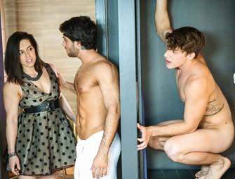 Gostosão quer dar o cu apertado para o ex-colega casado