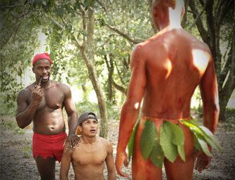 Kaue vai à floresta e dá para o Saci e o Curupira (Erick dotadão)