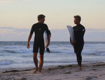 Minha primeira vez com o melhor amigo de surf – Real