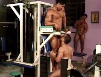 Brasileiros aproveitam muito bem o dia na academia