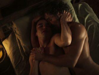 """Assista na íntegra cena de sexo gay da novela """"Liberdade, Liberdade"""""""