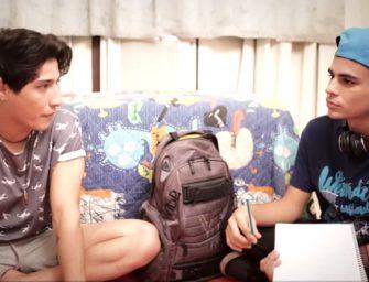 Com problemas na escola, novinho pede ajuda para colega