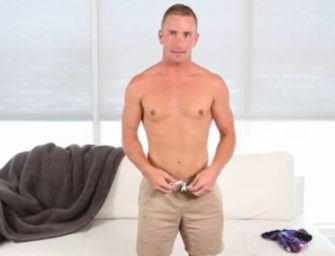 Loirinho passa por audição para ser ator pornô gay