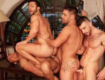 Tem como resistir três homens maravilhosos?