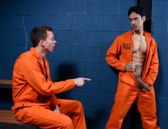 Hétero topa tudo para conseguir sobreviver na prisão