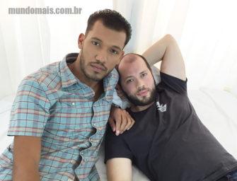 Cinesex super quente com Leon e Valter no Mundo Mais