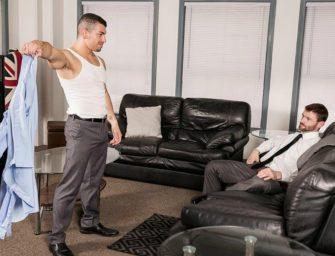 Estagiário faz de tudo (mesmo) para agradar o chefe