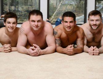 Johnny Rapid tem que agradar três homens ao mesmo tempo e sem capa