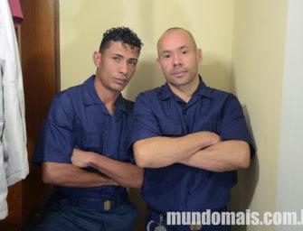 """Cnesex """"Os Guardas"""" com Luiz e Sidney no Mundo Mais"""
