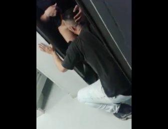 Flagra no banheiro do poupatempo São Bernardo do Campo