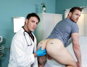 Um exame de próstata inesquecível, gostoso e (bem) intenso
