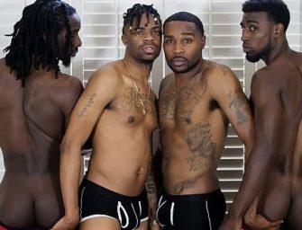 Negros estão ansiosos para um final de semana de pura safadeza