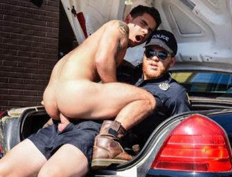 Policial tem outras maneiras de ensinar boas maneiras ao bandido