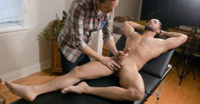 Relaxar, Pornô Gay, Sexo Gay, Massagem