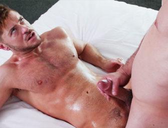 Massagem erótica termina de forma relaxante e muito revigorante