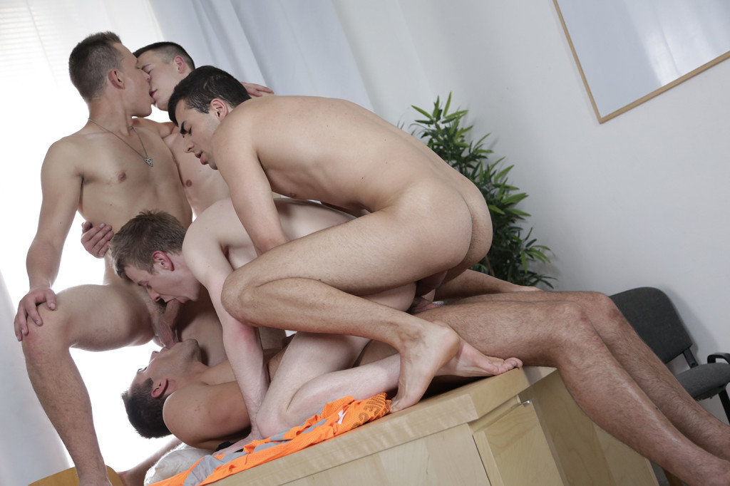 Sam Williams, Milan Sharp, Joel Vargas, Florian Mraz & Dick Casey