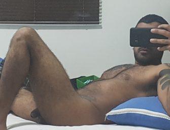(HD) Cristiano, paulista sem vergonha, bate punheta até gozar