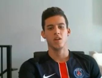 Novinho jogador de futebol mostra demais na webcam