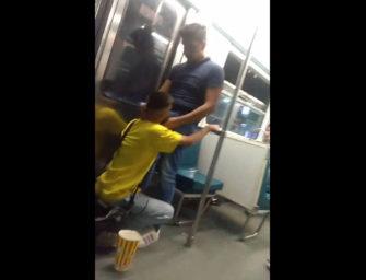 Safadeza no metrô? Esse casal jura que não conseguiu aguentar