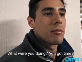 Latino hétero acaba topando putaria gay por um pouco de dinheiro