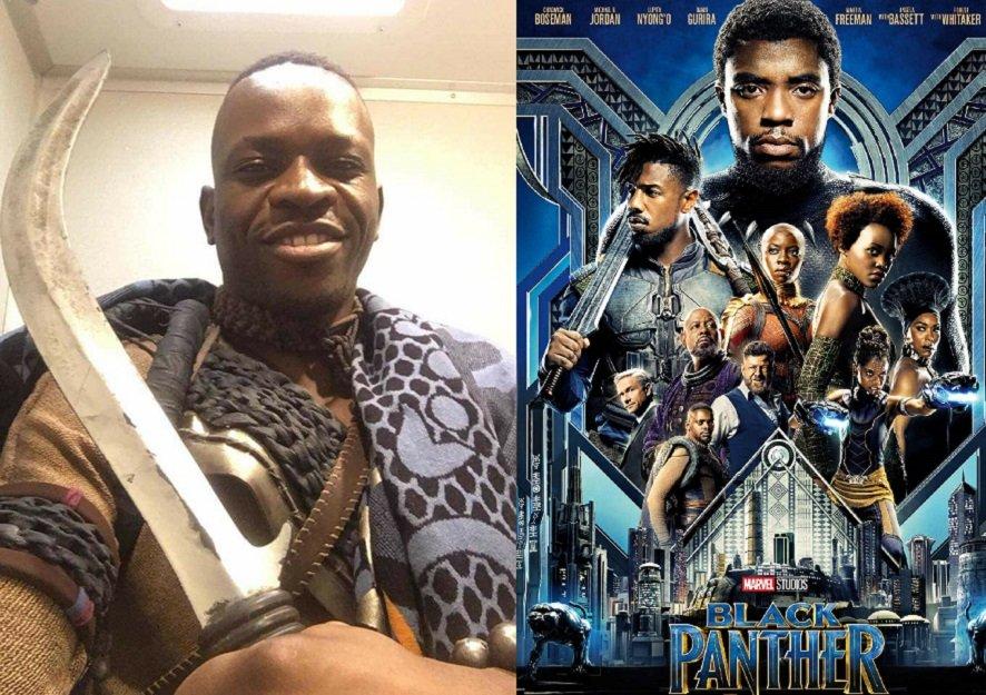 Pantera Negra, Patrick Shumba, Ator Pornô