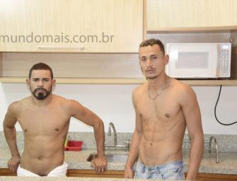 Cinesex com estreia dos safados Pietro e Ronny na cozinha