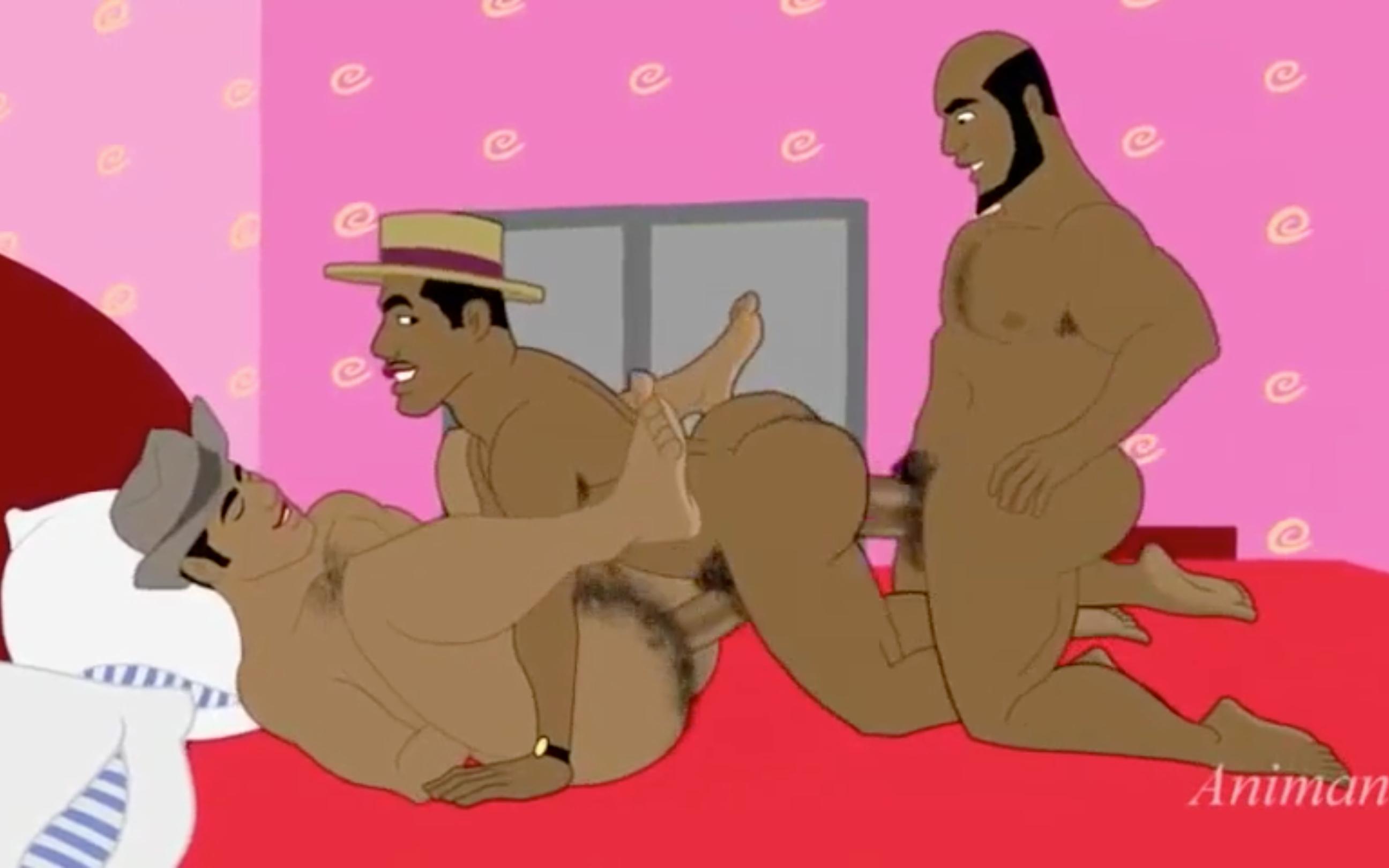 Negros, Preto, Negro, Sexo Gay, Elite,