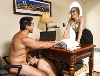 Axel Kane trai a esposa com Will Brain, o secretário gostosão