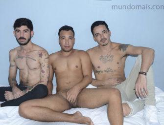 Cinesex com Cayo,  Angelo e Marcilio no Mundo Mais
