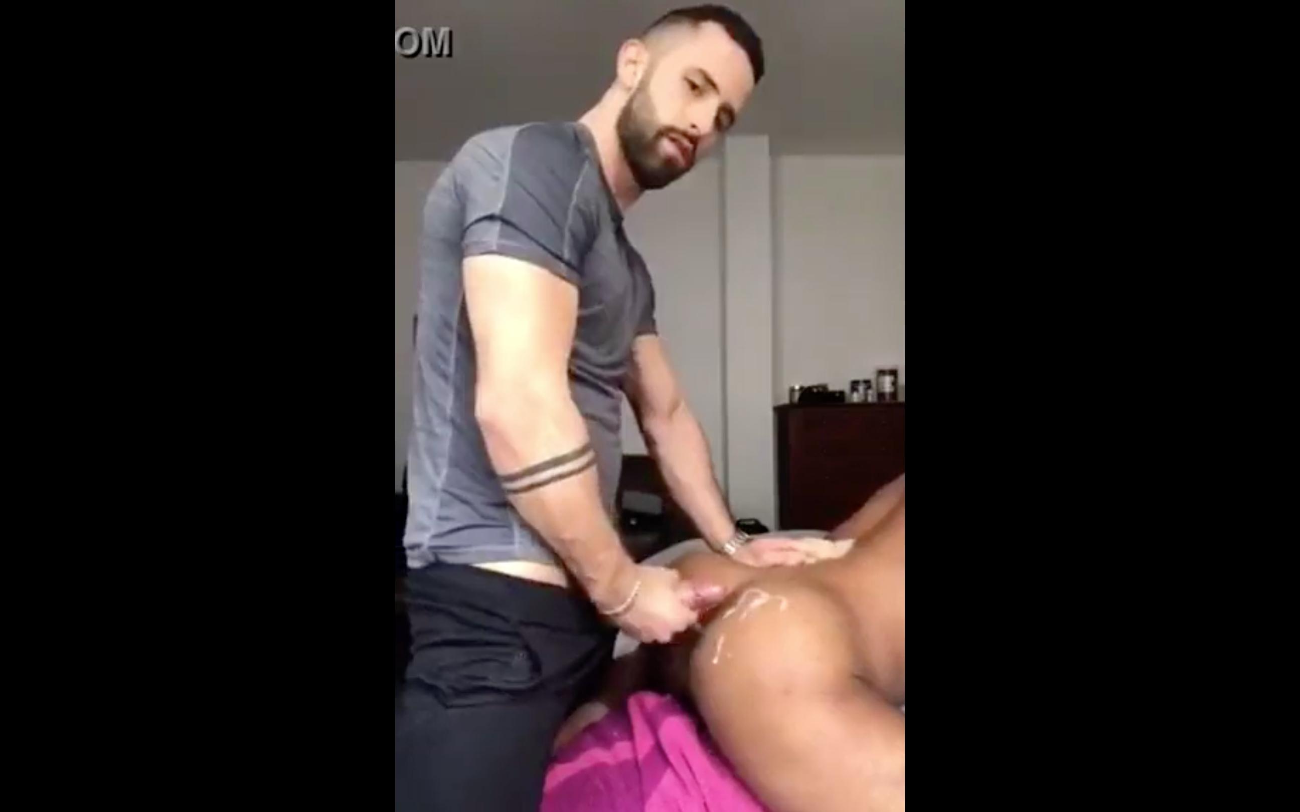 Amigo Hétero, Negro, Sexo Gay, Sexo Gay Interracial