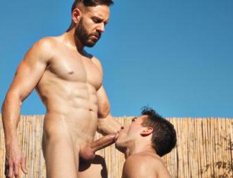 Mario Galeno e Jonathan Miranda são brasileiros cheios de tesão