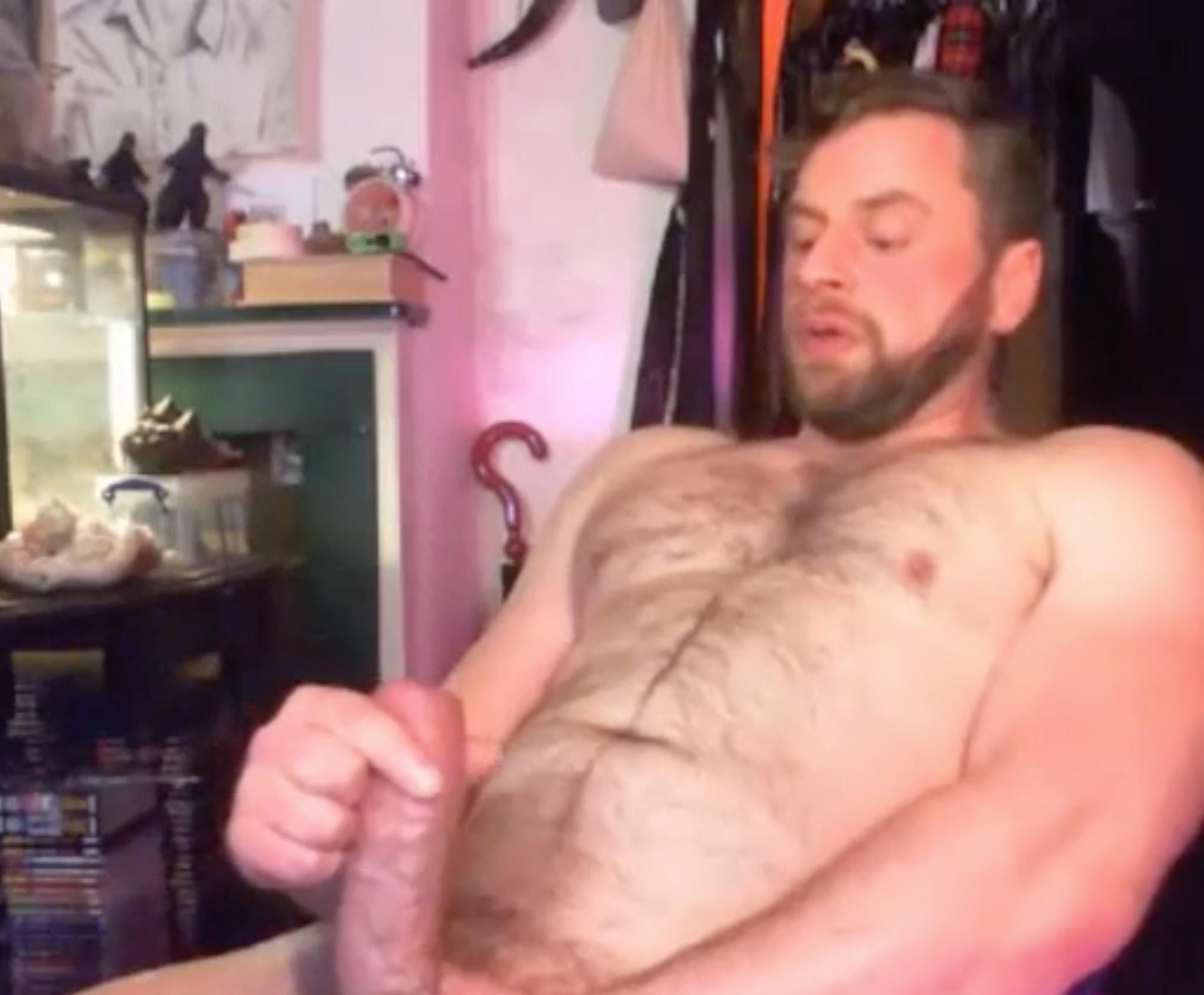 Urso, Urso Gay, Pauzão, Big Dick, Punheta, Masturbação, Bronha, Batendo Punheta