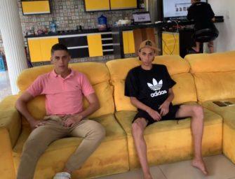 Novinhos brasileiros fazendo teste para ator pornô