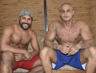 Video de chupada com o estreiante Vagner e o super Daniel Carioca