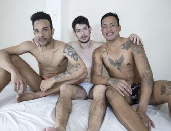 Filme com Fabricio Aguiar, Junior Monteiro e Kalvin Picachu