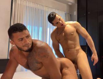 Rico Marlon soca a pica no cu do Carlos Maranhão na chapa