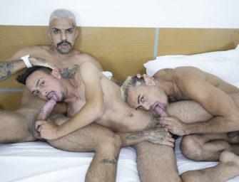 cinesex com Kadu Ventri, Renan Dotadão e Well Faustino