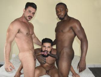 Lançamento do último domingo com Flavio, Diogo e Daniel