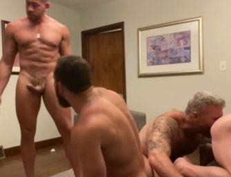 Video de suruba amadora com vários machos grandes e dotados
